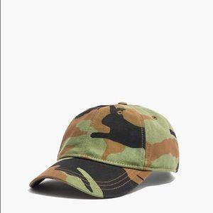 Madewell camo hat baseball cap